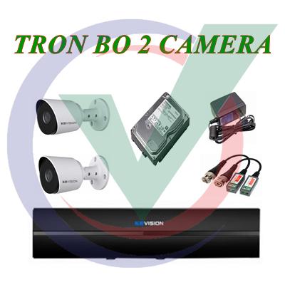 Trọn Bộ 2 Camera 2.0MP